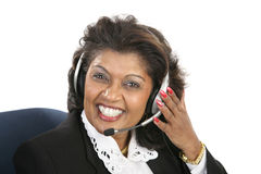 Indian Woman - Friendly Service Stock Images