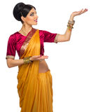 Indian woman isolated Royalty Free Stock Photo