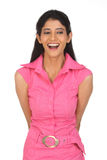 indian  woman laughing Royalty Free Stock Photography