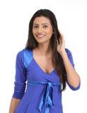 Indian woman listening gossip Royalty Free Stock Image
