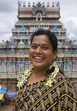 Indian woman in Madurai - India Royalty Free Stock Photos