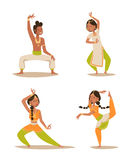 Indian woman man dancing vector isolated dancers silhouette icons people India dance show party movie, cinema cartoon Stock Photography