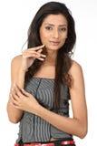 Indian woman portrait Stock Photos