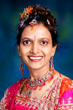 Indian woman portrait Stock Photography
