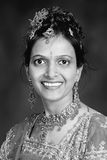 Indian woman portrait Stock Image