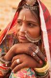 Indian woman portrait Royalty Free Stock Photos
