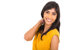 Indian woman posing Stock Images