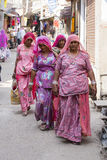 Indian woman in Pushkar. India Royalty Free Stock Image