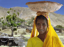 Indian Woman - Rajashan - India Stock Photo