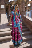 Indian woman - Rajasthan - India Royalty Free Stock Photo
