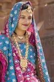 Indian woman - Rajasthan - India Stock Photo