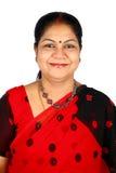 Indian woman smiling Stock Photos