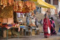 Indian woman - Varanasi - India royalty free stock photo