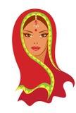 Indian woman stock illustration
