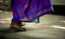 Indian womans feet