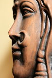Indian women idol. Artistic Indian women idol created from clay Stock Image