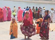 Indian women. Pushkar, India Stock Photos