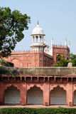 Indian wonderful examples of architecture - Red Fort in Agra Royalty Free Stock Photography