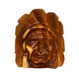 Indian wood carving Royalty Free Stock Images