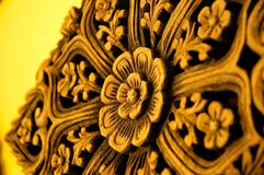 Indian Wood Carvings. Wood Carvings of various patterns and shapes Royalty Free Stock Photography