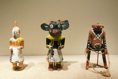 Indian wooden dolls Royalty Free Stock Photography