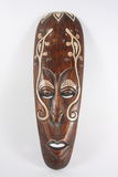 Indian wooden mask Costa Rica Royalty Free Stock Photo