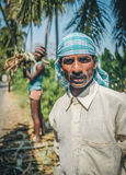 Indian worker Royalty Free Stock Images