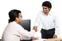 Indian young business people Royalty Free Stock Photo