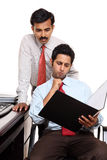 Indian young business people in office Stock Photography