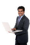 Indian young businessman Royalty Free Stock Photo