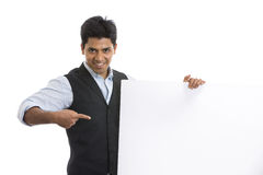 Indian young businessman Stock Image