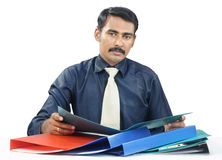 Indian Young Businessman Royalty Free Stock Image