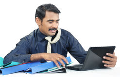 Indian young businessman Stock Photography