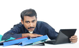 Indian young Businessman Stock Images