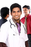 Indian young doctor Royalty Free Stock Images