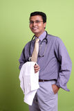 Indian young doctor Royalty Free Stock Photos