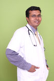 Indian young doctor Royalty Free Stock Photography