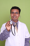 Indian young doctor Stock Photo