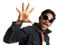 Indian young man Stock Images