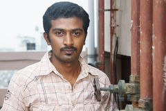 Indian Young Man Stock Photo