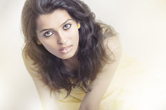 Indian young pretty girl portrait. Royalty Free Stock Photo