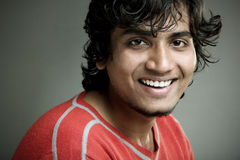 Indian young smiling Royalty Free Stock Photography