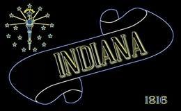 Indiana ślimacznica royalty ilustracja