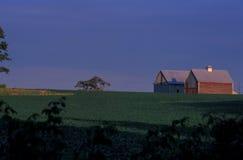 Indiana-Bauernhof Lizenzfreies Stockbild