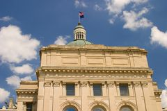 Indiana Capital Building. State of Indiana Capital Building stock photography