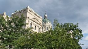 Indiana Capital Building. In downtown Indiananpolis Stock Photos