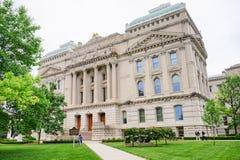 Indiana Capitol budynek zdjęcia stock