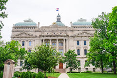 Indiana Capitol budynek fotografia stock