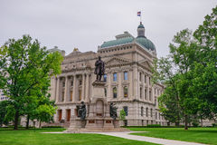 Indiana Capitol budynek zdjęcia royalty free
