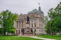 Indiana Capitol Building Photos libres de droits